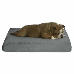 Thick Memory Foam Pet Puppy Dog Bed Removable Cover 26 x 19 Small Comfy Cozy $23.99