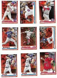 2019 Topps Mini Online Exclusive Red Parallel #5 Pick Your Card