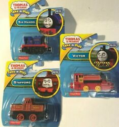 NEW in Packages-Thomas and Friends Take Along DieCast-Sir Handel-Victor-Stafford