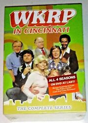 BRAND NEW! WKRP IN CINCINNATI: COMPLETE SERIES 1-4. 13-DISC BOX SET. SHIPS FREE