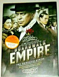 BRAND NEW! BOARDWALK EMPIRE: COMPLETE TV SERIES. 20 DISC DVD BOX SET. SHIPS FREE