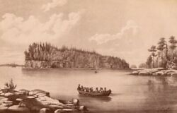 1880s RUSSIA From the Area of ISLE of VALAAM Vintage Original Photo on Cardboard $25.00