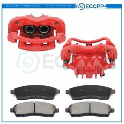 Front Brake Calipers And Ceramic Pads For Ford F-250 F-350 Super Duty 2000-2004 $107.19
