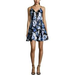 Betsy amp; Adam Womens Floral Mini Cocktail Party Dress BHFO 3364 $11.47