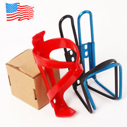 Drink Water Bottle Cage Cup Holder Bike MTB Bicycle Aluminum AlloyPlastic 2PCS $6.19