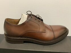 Barneys New York Men's Oxford Brogue Shoes Size 13 Nature Tabacco Brown $69.99