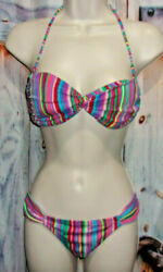 Victoria Secret Bikini Women#x27;s Swimsuit 2 Pieces Top Size S Bottom Size S $12.00