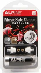 Classic Earplugs for Musicians Hearing Protection Music Safe Travel Box Includes $30.99