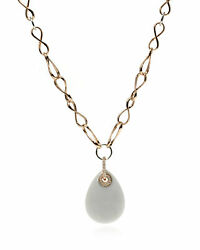 Crivelli 18k Rose Gold And 18k White Gold Diamond Necklace N863218