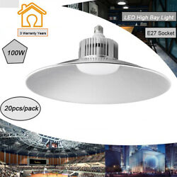 20X 100W LED High Bay Light Industrial Factory Warehouse Commercial Gym lighting $536.99