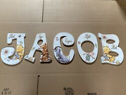 Winnie the Pooh Wall Letters $24.99