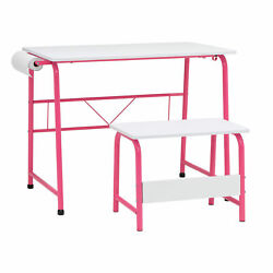 Studio Designs Homework Desk and Task Station Center with Bench Open Box $41.99