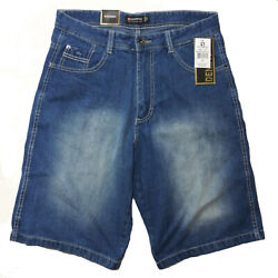 SOUTHPOLE MEN'S CORE DENIM SHORT STYLE NO 9001-3236  MEDIUM SAND BLUE $26.99