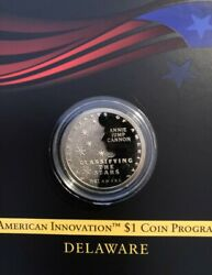 2019 S REVERSE PROOF  American Innovation  DELAWARE Deep Cameo $9.50