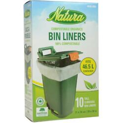10 Pack 28quot; x 30quot; Tall Bin Compost Bags C $9.98