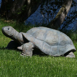 Sunnydaze Todd the Tortoise Indoor Outdoor Large Lawn and Garden Statue 30quot; $189.00