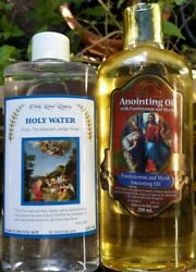 Anointing Oil Jerusalem Frankincense and Holy water 250ml 8.45oz Holy Land