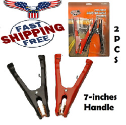 Battery Jumper Cable Clamps Booster Parrot Replacement Tool Heavy Duty 2 Pack $20.14