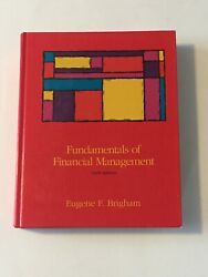 Fundamentals of Financial Management Eugene F Brigham 1992 Hardcover Text Book $41.00