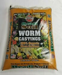 Readi Soil 1 cu.ft 100% Organic Worm Castings FREE SHIPPING $39.99