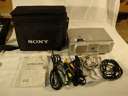 Sony VPL-CS2 LCD Projector bundeled with Case - Good Working Condition $99.00