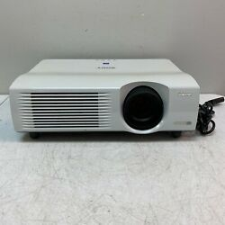 Sony VPL-PX40 VGA Projector 3500 Lumens Tested and Working 1800 Lamp Hours $89.95