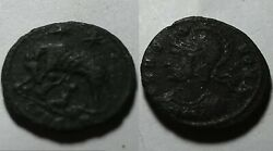 Constantine I 337 AD ancient Roman coin VRBS ROMA she wolf Marked Romulus Remus