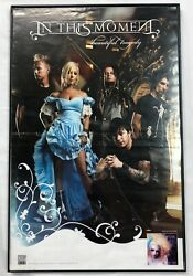 IN THIS MOMENT 11 X 17 POSTER BEAUTIFUL TRAGEDY MARIA BRINK RARE $39.99