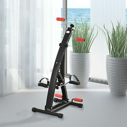 Indoor Seniors Training Bicycle Massage Arm amp; Leg Exerciser Adjustable Machine $51.99