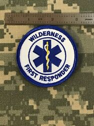 """Wilderness First Responder Star Of Life Medical Personnel 2.5"""" Patch JJ 3 $6.00"""