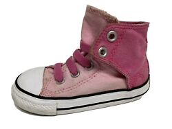 Converse All Star toddlers girls sneakers hi top pink size US 7 $14.33