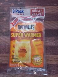 HotHands Body Hand Super Air Activated Warmer Natural Odorless 3 Pack Exp 52023 $4.45