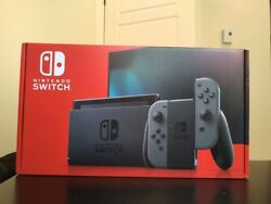 ✅ New Nintendo Switch 32GB Console Gray Joy con Newest Version V2 IN STOCK ✅ $397.99