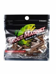 NEW   Trout Magnet   50 Pc. TM Body Pack NEW COLOR  $7.99