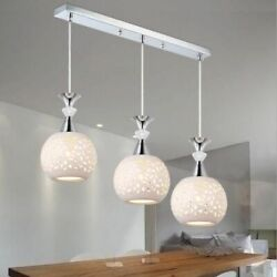 Chandelier Home Lights Fixture LED Ordinary Bulb Modern Style Ceramic Lampshades