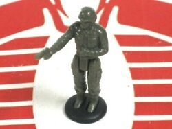 Army Gear Playset Accessory Small Green Soldier Figure w Stand Galoob 1988 #1 $1.99