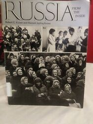 Russia from the Inside by Robert and Hannah Kaiser 1980 Ex library $7.00
