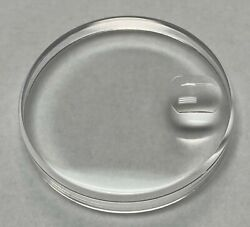 PLASTIC PLEXI WATCH CRYSTAL FOR ROLEX DATEJUST 25 135 16013 16014 AND MORE $12.50