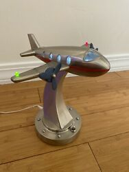 Vintage Night Light Airplane Lamp $120.00
