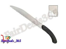 SAW WITH FIXED HANDLE,460MM HI-CARBON STEEL BLADES FOR CUTTING &PRUNING BRANCHES $32.33