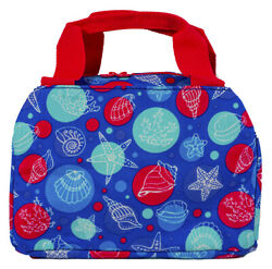 Sea Shell Thermal Insulated Lunch Box Cooler Bag Cute Teens Girls Tote Small $17.99