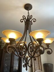 Chandelier and 2 Sconces $300.00