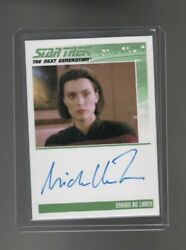 Star Trek TNG  Heroes & Villains Michelle Forbes auto. card