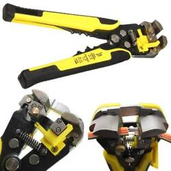 Cable Wire Stripper Cutter Crimper Automatic Multifunctional Plier Electric US $15.36