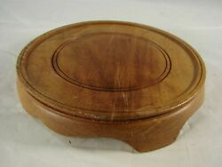 Vintage Large Chinese Wooden Base Stand For Porcelain and other Antiques A10 $10.00