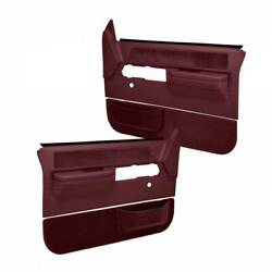 Coverlay 18 36N MR For 88 94 Chevy GMC 4 Door Pickup Maroon Door Panels $387.98