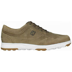 Footjoy Spikeless Golf Casual Shoes Tan Choose Size amp; Width $49.96