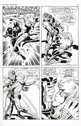 Jack Kirby Silver Star 6 Page Awesome $3999.00