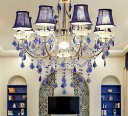 Crystal Chandelier Lights Fixtures LED Modern Flush Mount Touch On Off Switching $328.99