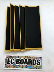 LC BOARDS Fingerboard Grip Tape Foam High Quality Pack Of 5 Brand New $5.95